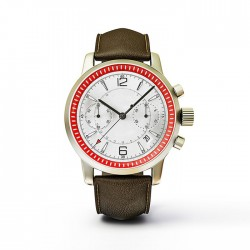 Red Formal Watch